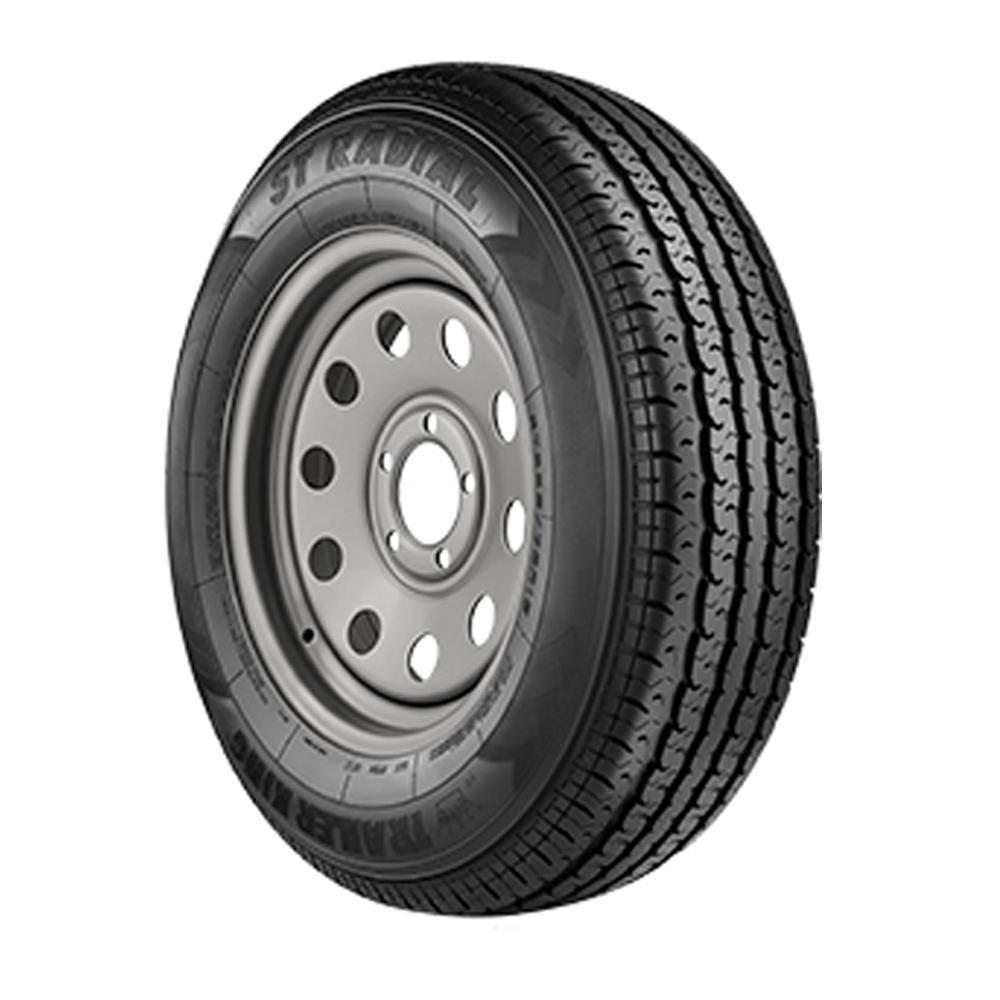 Spare Tire and Rim (205/75R15 - 5 BOLT) - Big Tex