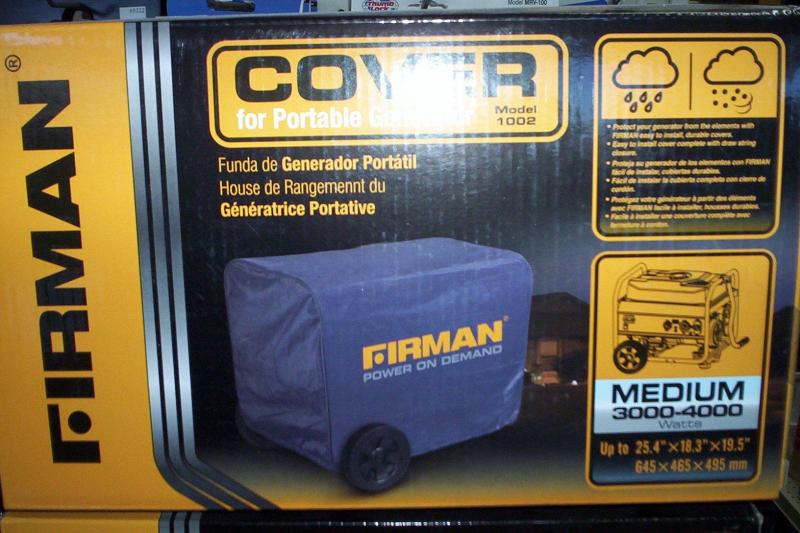 Firman Cover for 3000-4000 watts generator