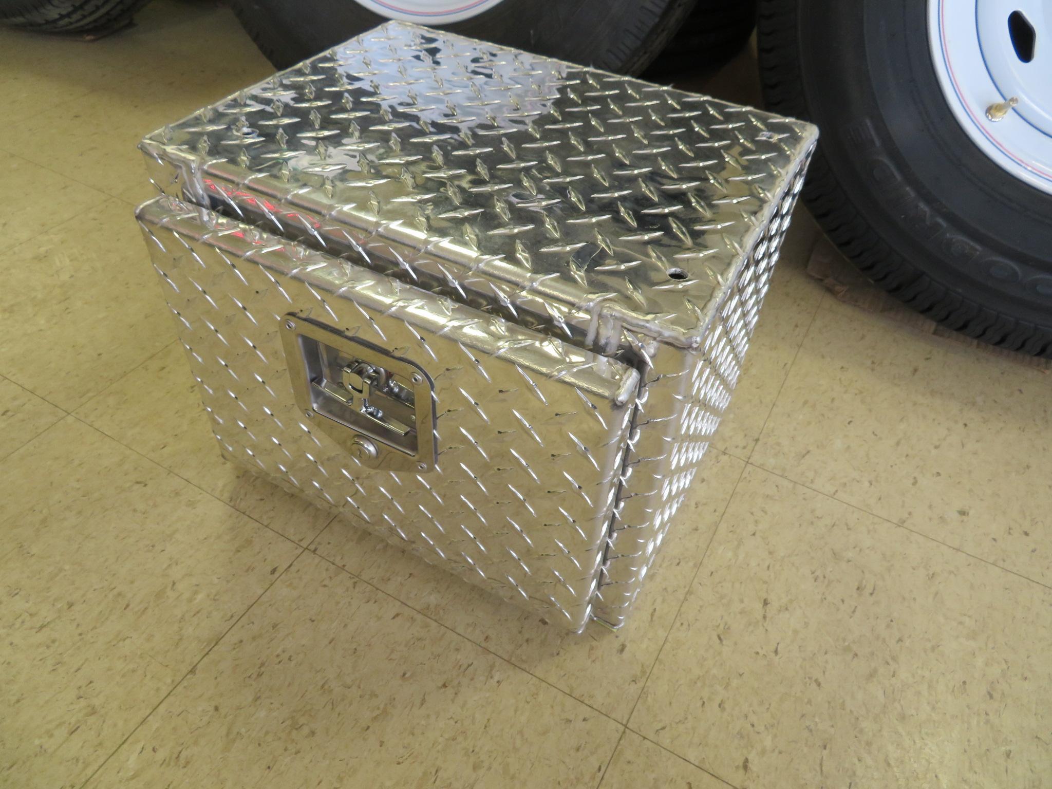 Aluminum Undermount Toolbox -  12 x 12 x 16