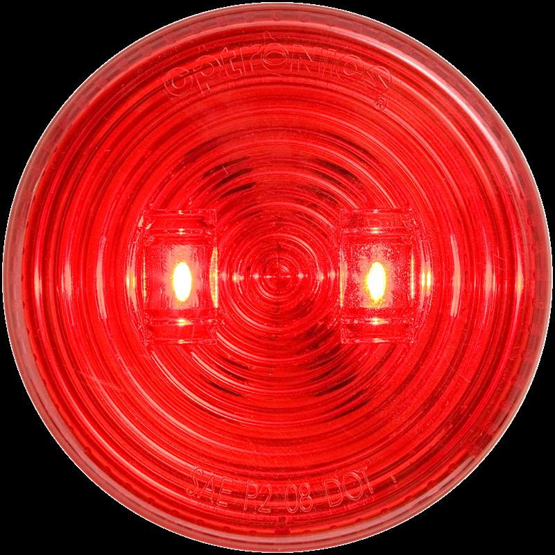 LED C/M 2.5 RND RED 2D GRMT M T FLEET COUNT