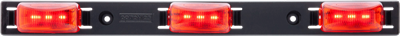 Red LED identification light bar