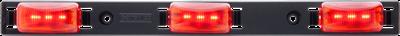 Red LED identification light bar