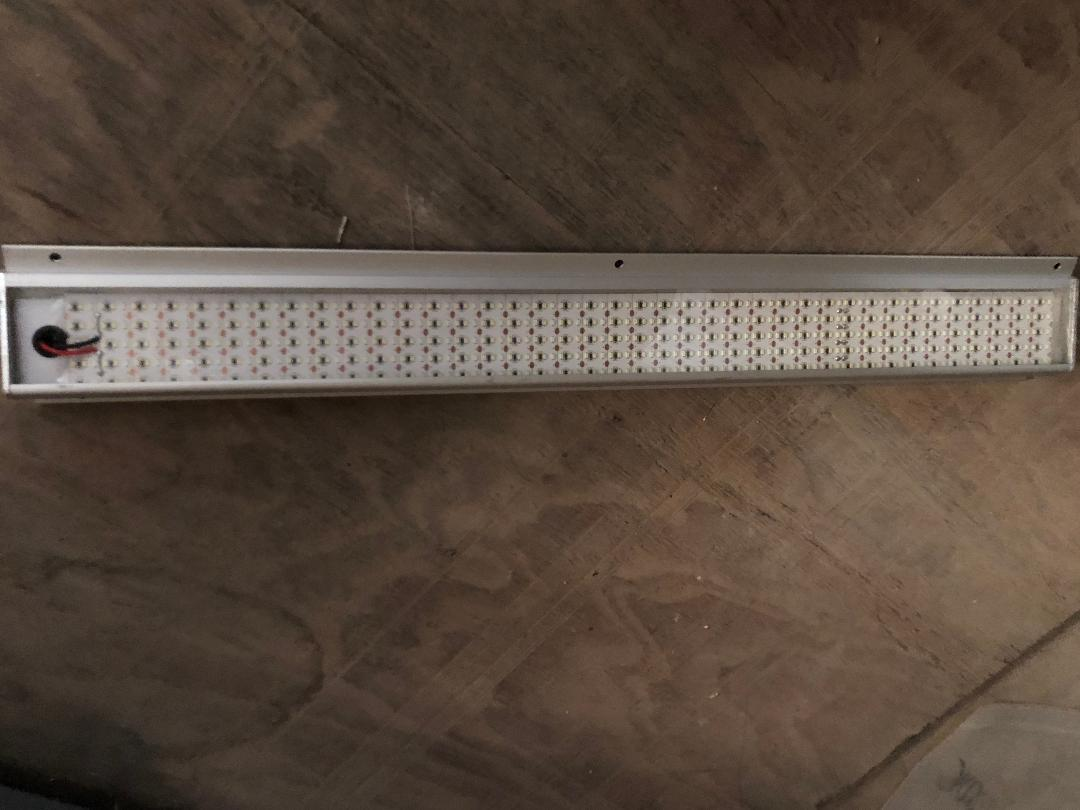 LED Strip Lights- 6 Row Exterior 12 Volt-2 Foot Long-silver