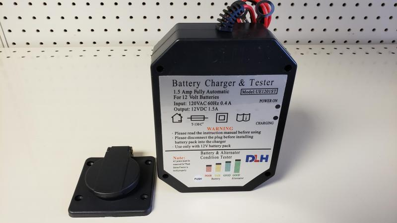 DUMP BATTERY CHARGER 12V 1.5 AMP