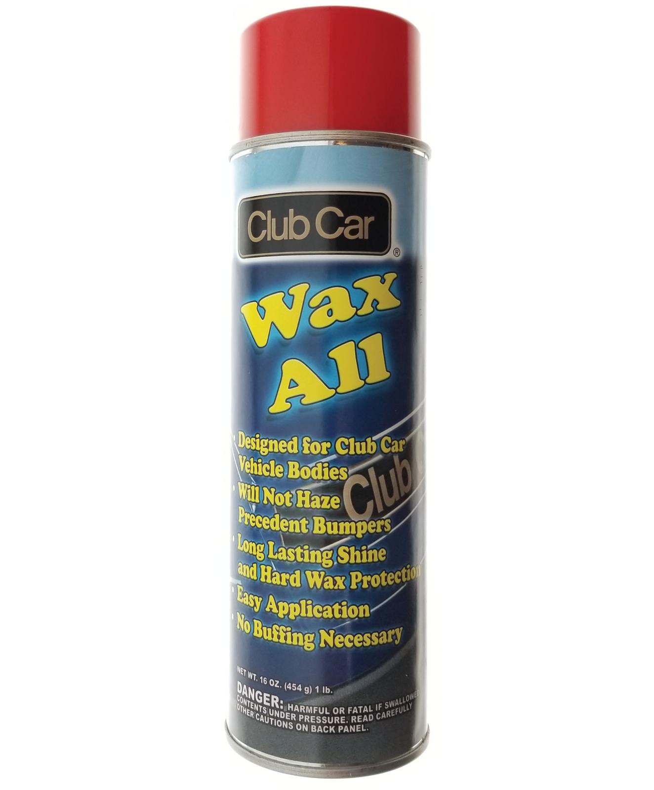 Club Car Wax All 16 oz