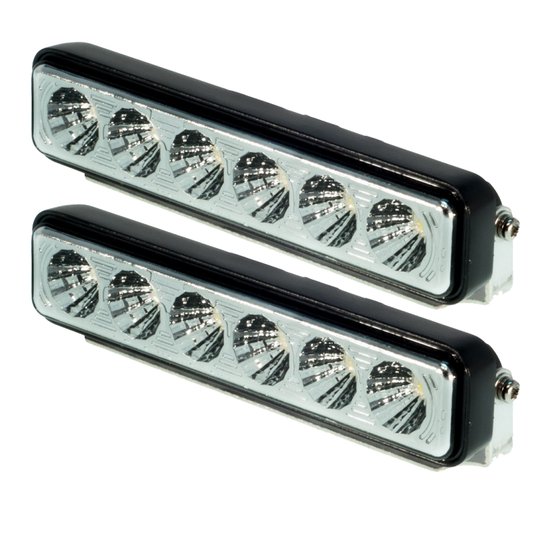 4.01″ 6 Epistar Bulb Light Bar Set