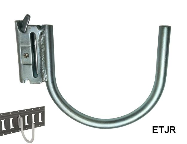 ROUND J HOOK FOR E-TRACK