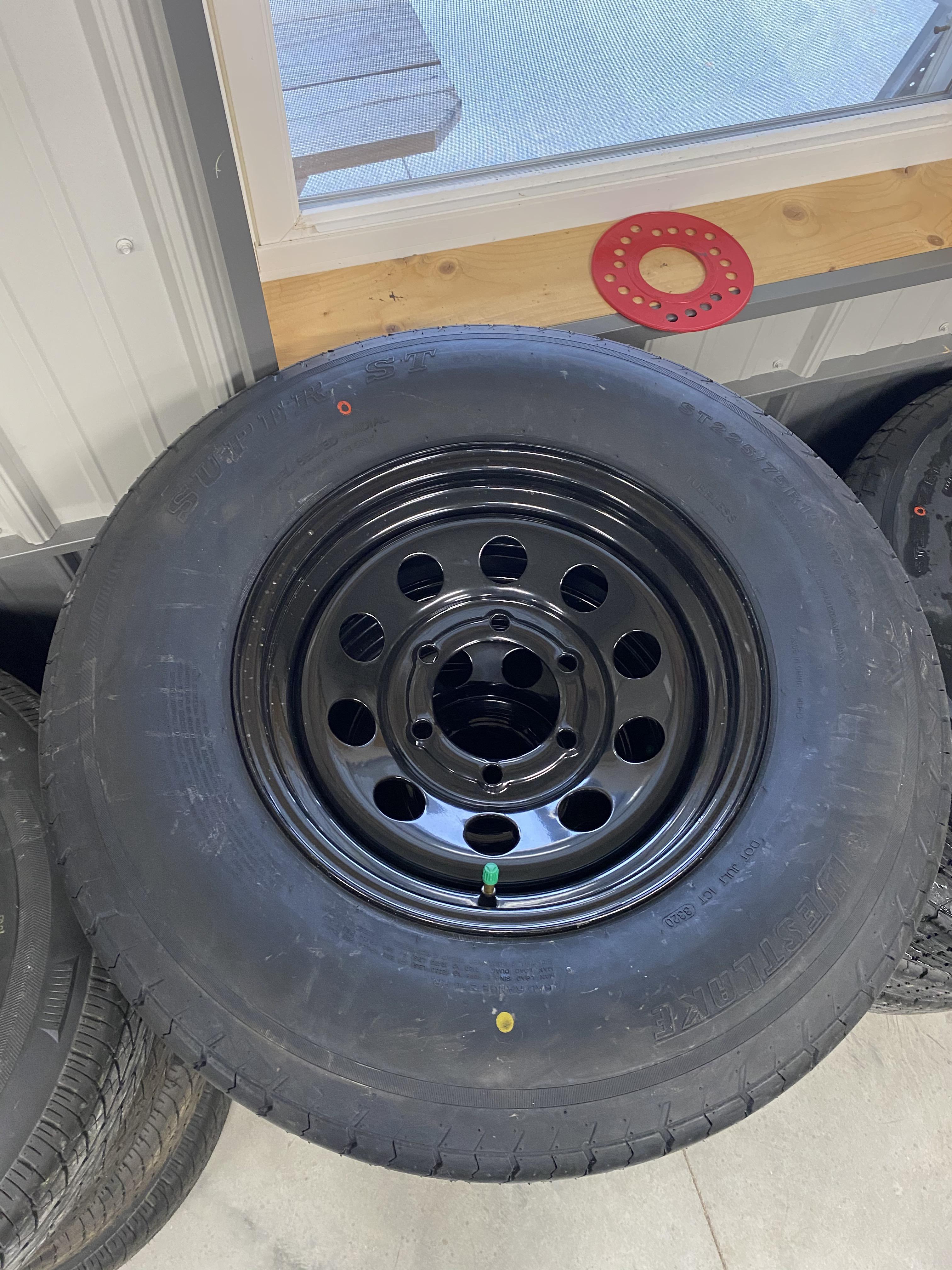 Westlake Tire & Rim 8ply 225/75/15 ~BLACK~ 6LUG