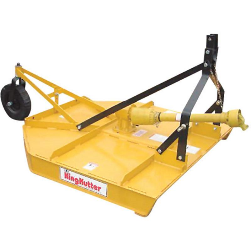 "King Kutter L-60-40-P-FH 3-pt 60"" Brush Hog with Flex Hitch"