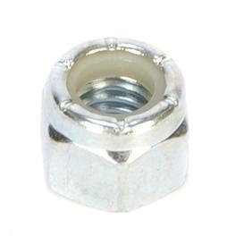 3/8in-16 Zinc Plated Locknut w/Nylon Insert