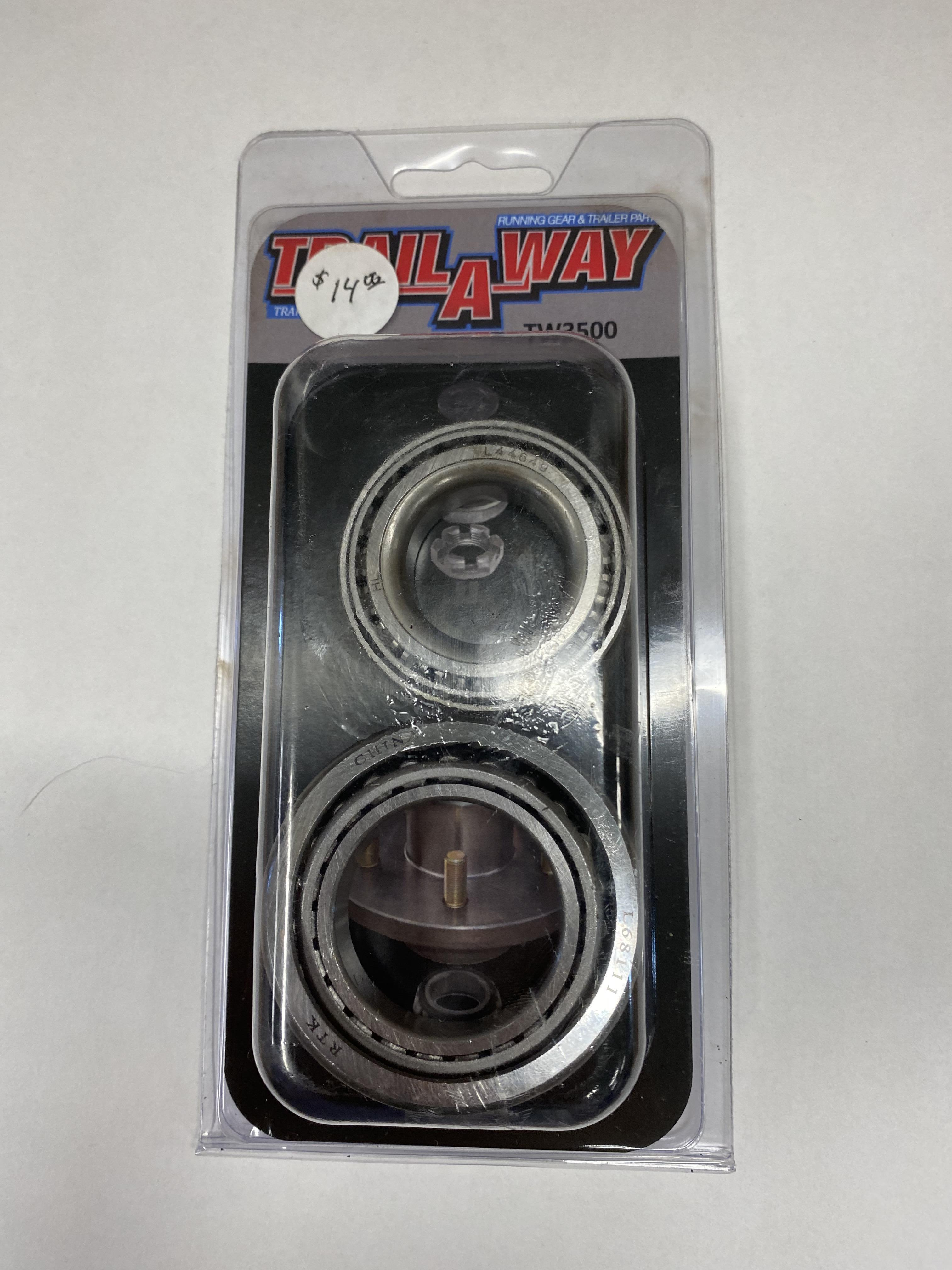 Trail A Way TW3500 3500lb Bearing and Race Kit