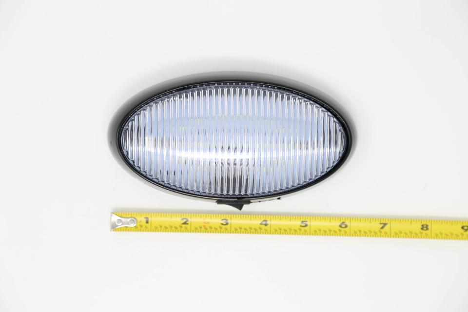 Clear Oval LED Light with on/off switch
