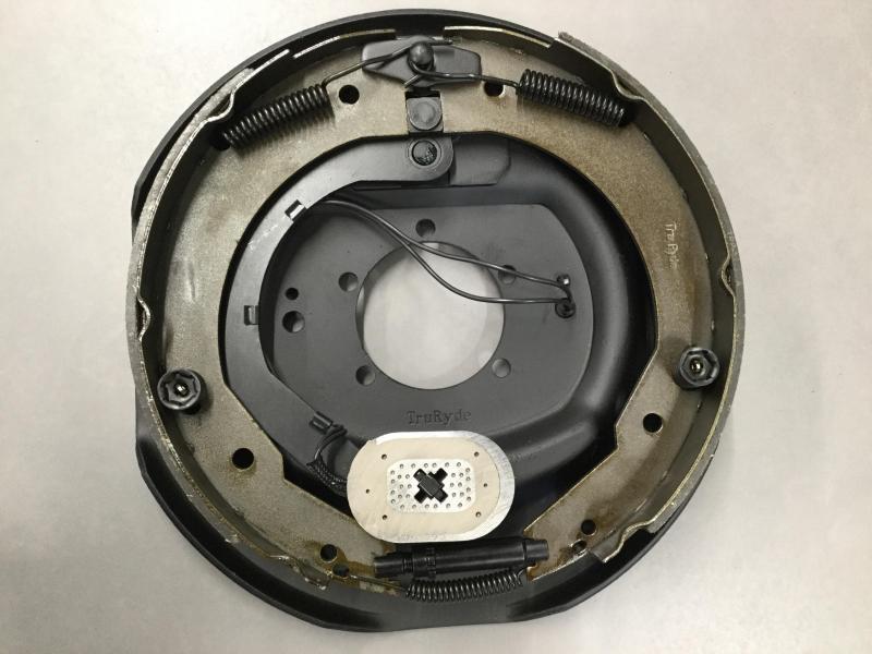 12x2 Left brake assembly