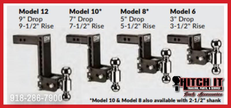 Adjustable Ball Mount - Tow & Stow 2