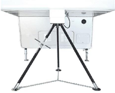 Fifth Wheel King Pin Stabilizer Jack Stand; Deluxe Tripod