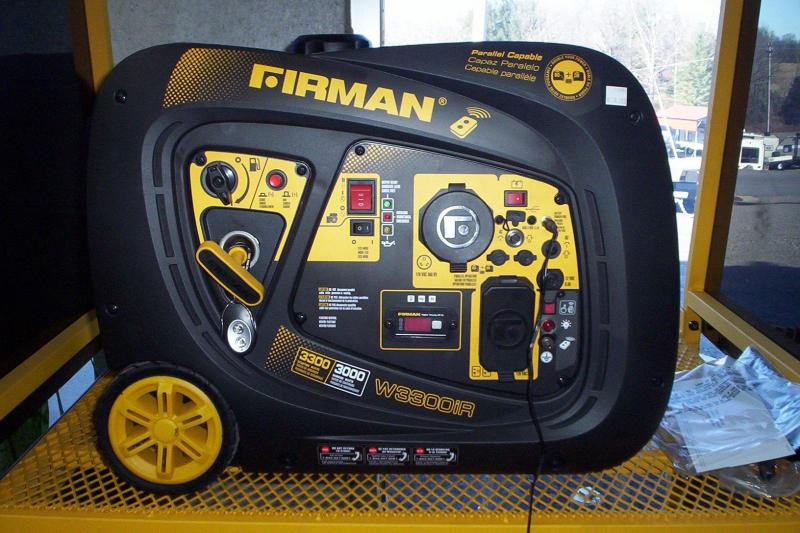 Firman whisper series 3000 watts generator