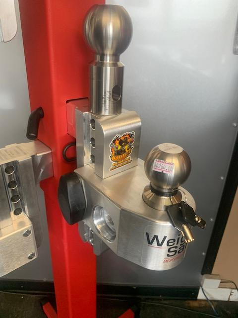 """Weigh safe 6"""" drop with 2"""" shank"""