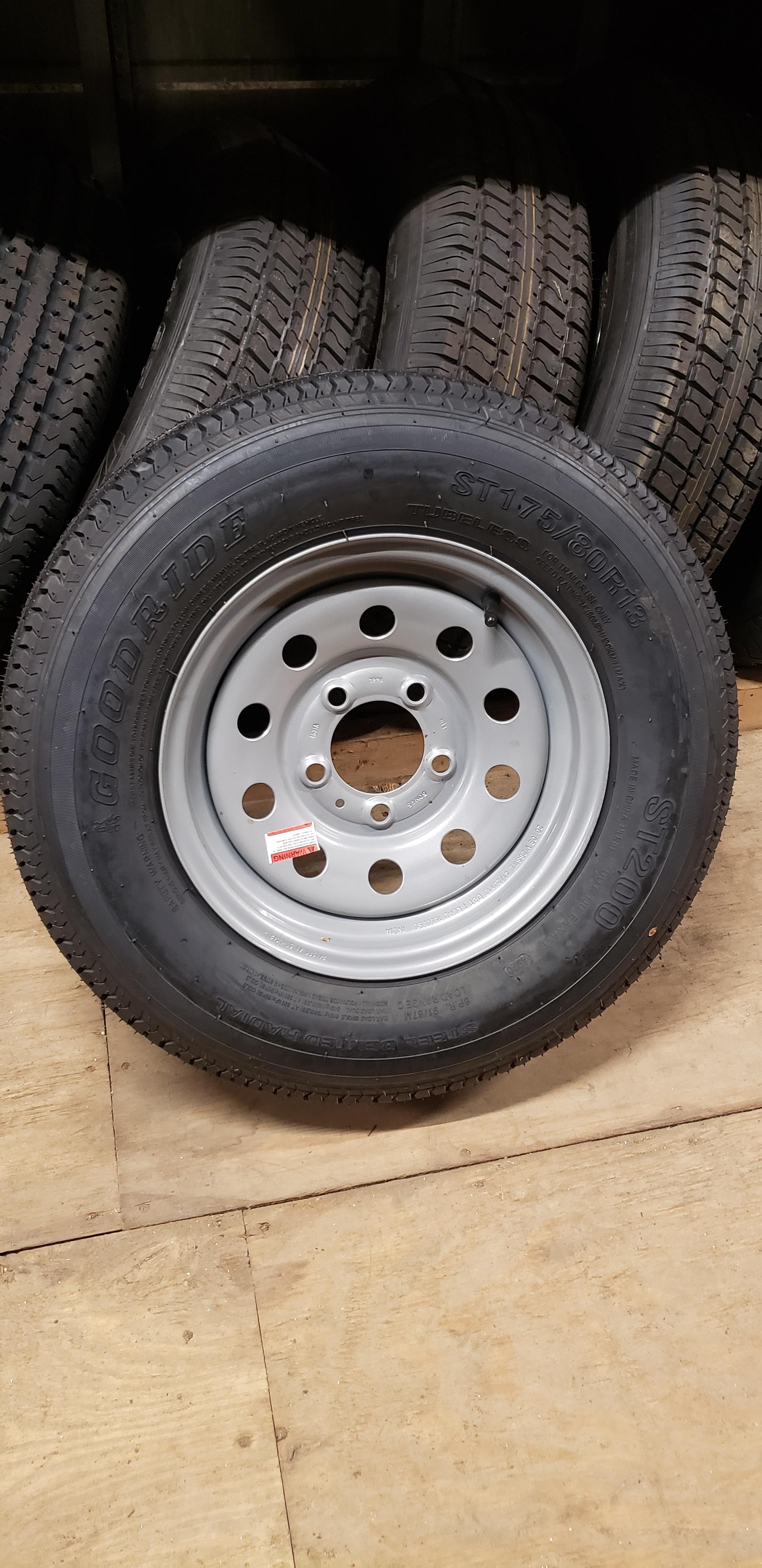 ST175/80R13 Goodride- 2 Colors- Rim and Wheel