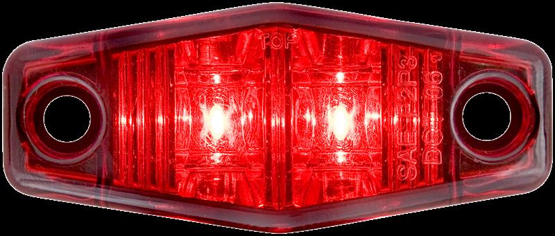 LED C/M MINI SELD 2D RED LT