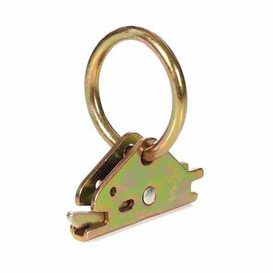 ROUND LOCK IN RING FOR E-TRACK