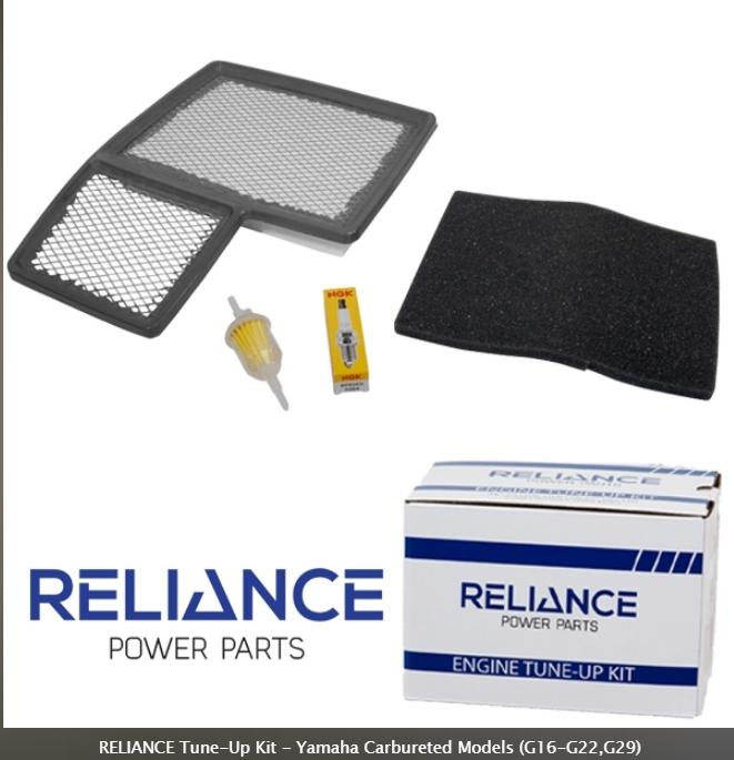 Reliance Tune-Up Kit - Yamaha G16-G29