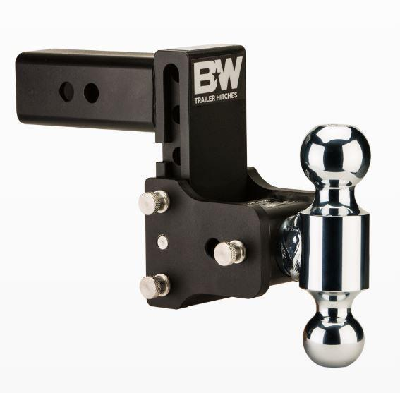 """B&W Hitches. Tow & Stow. 2.5"""" Shank. Black Hitch"""