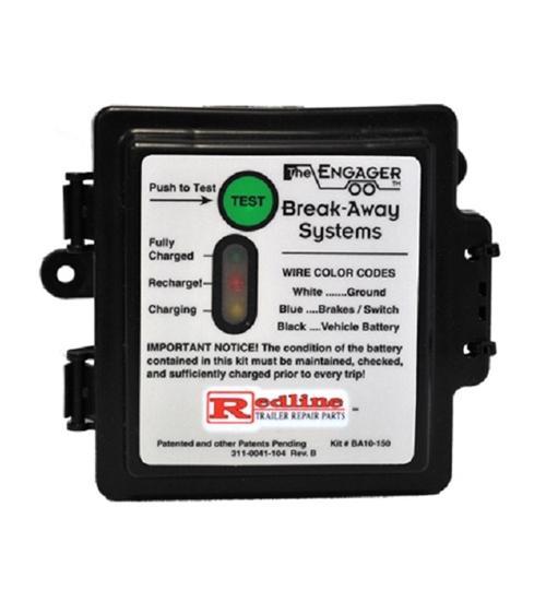 Redline 12 Volt Breakaway Kit w/LED Charge Indicator