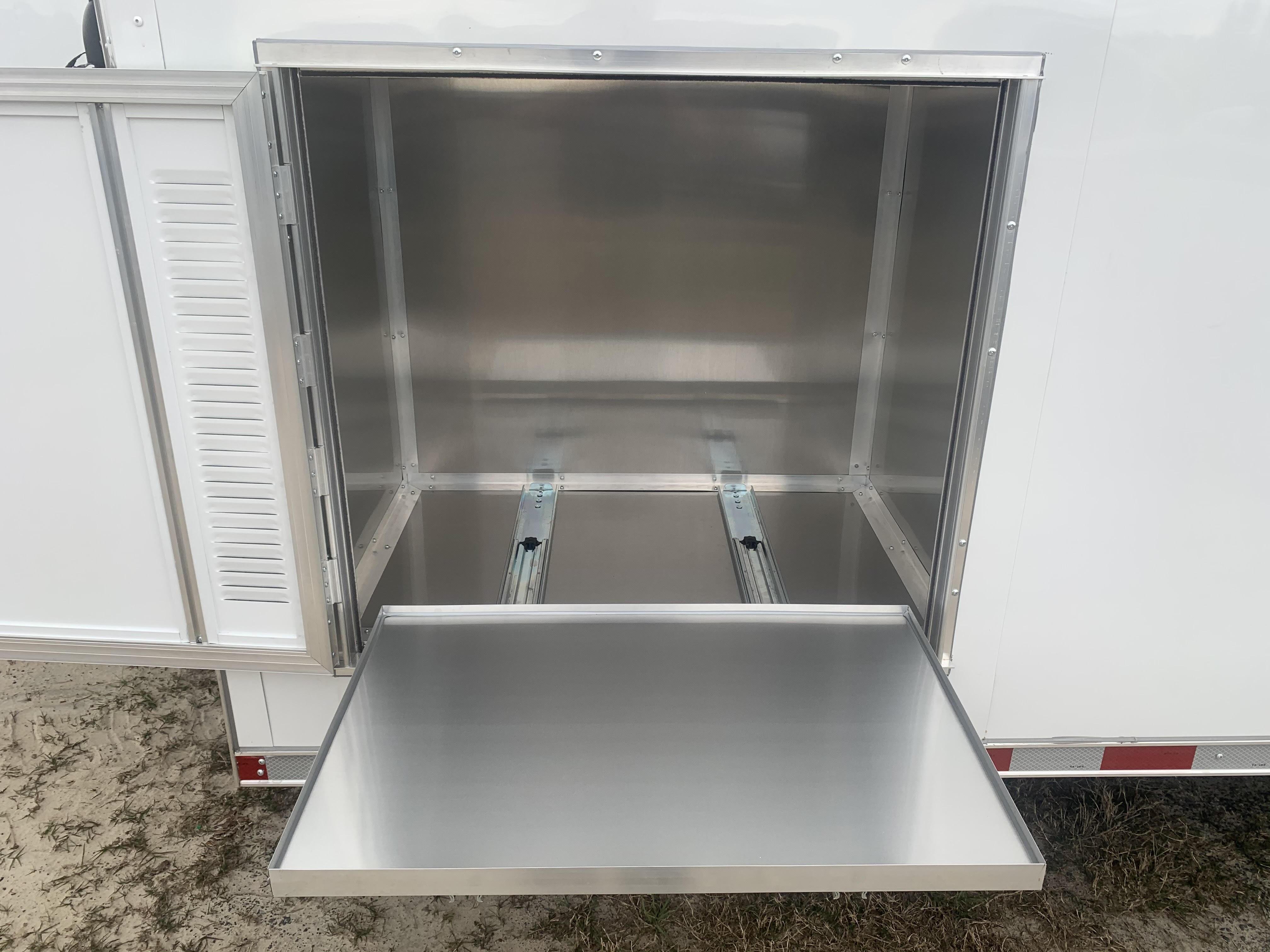 Insulated Generator Compartment w/ Slideout Tray $575