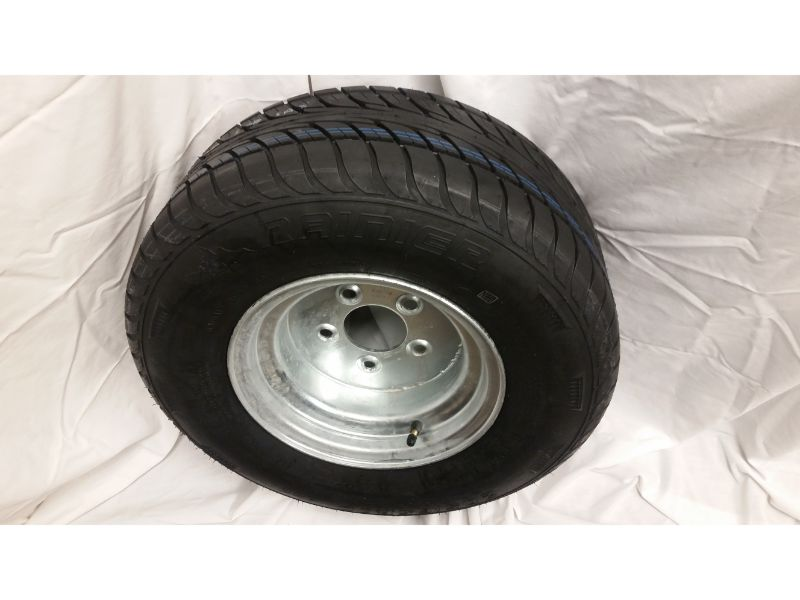20.5X8.0X10 Trailer Wheel/Radial Tire, 5 Lug Galvanized