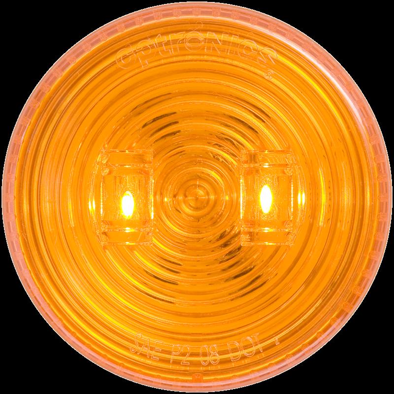 LED C/M 2.5 RND AMB 2D GRMT M T FLEET COUNT