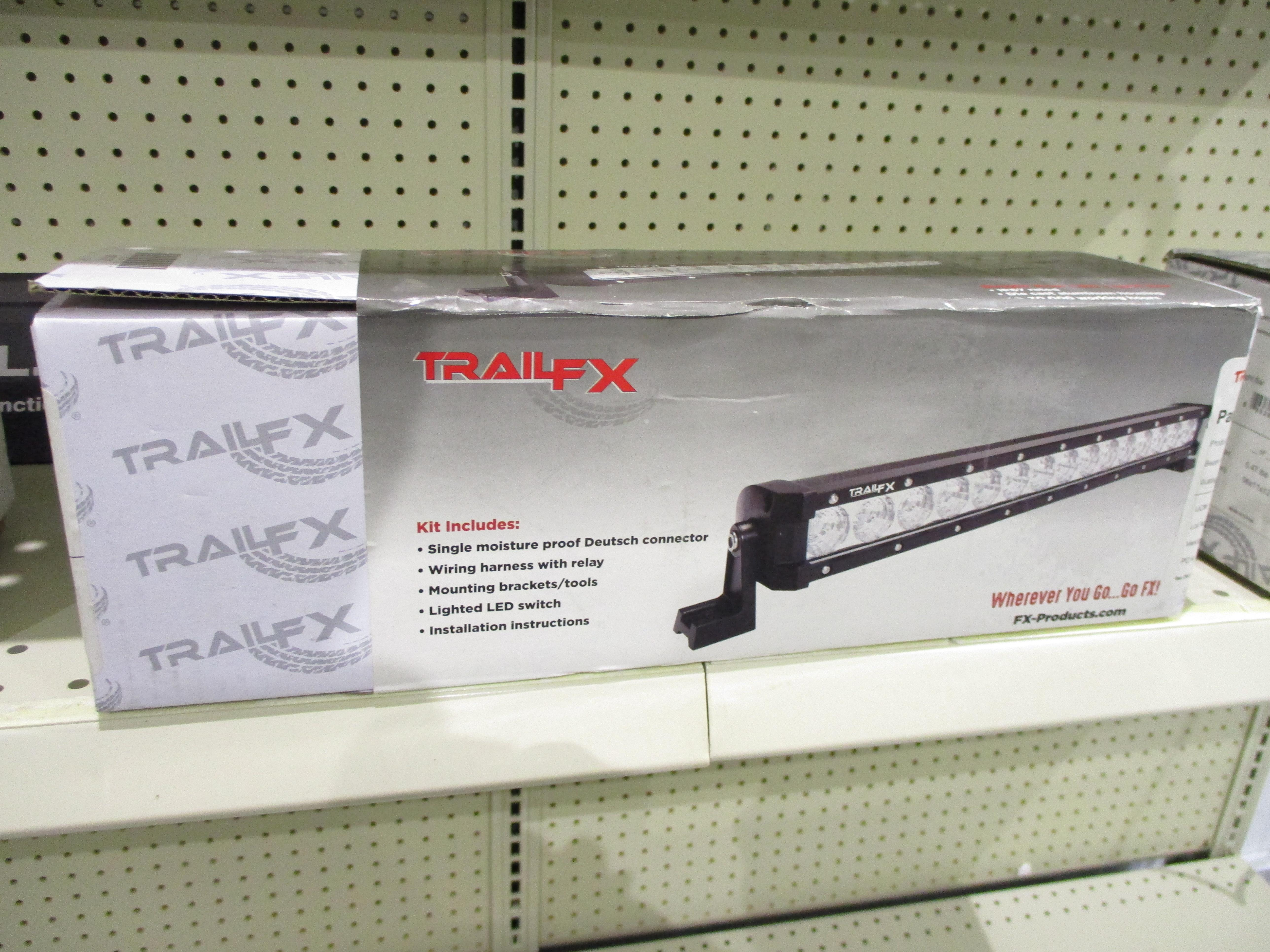 TrailFX 8'' Single Row Straight LED Light Bar