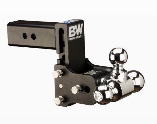 """B&W Hitches. Tow & Stow. 2"""" Shank. Black Hitch"""