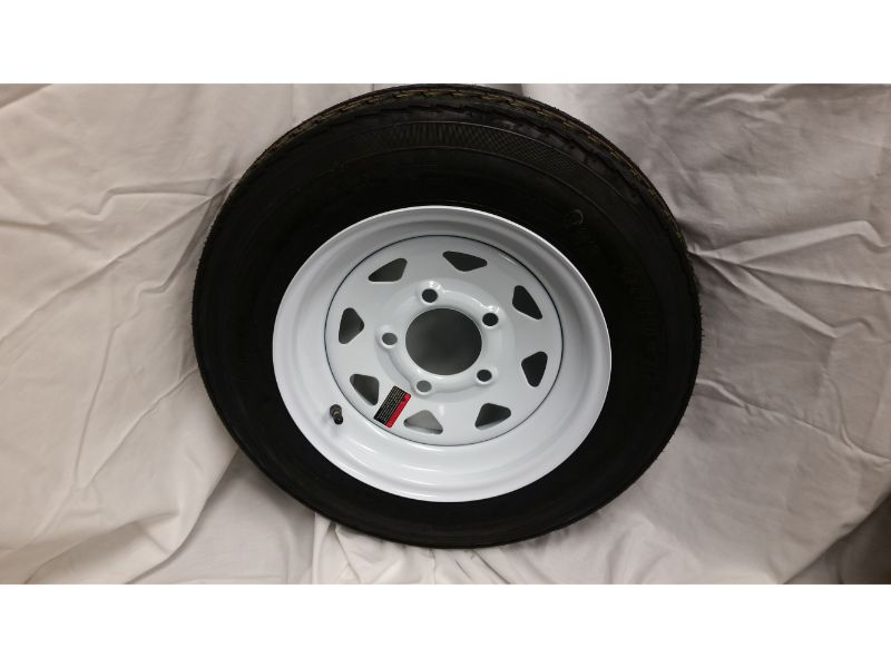 4.80X12 Trailer Wheel/Tire, 5 Lug (Copy)