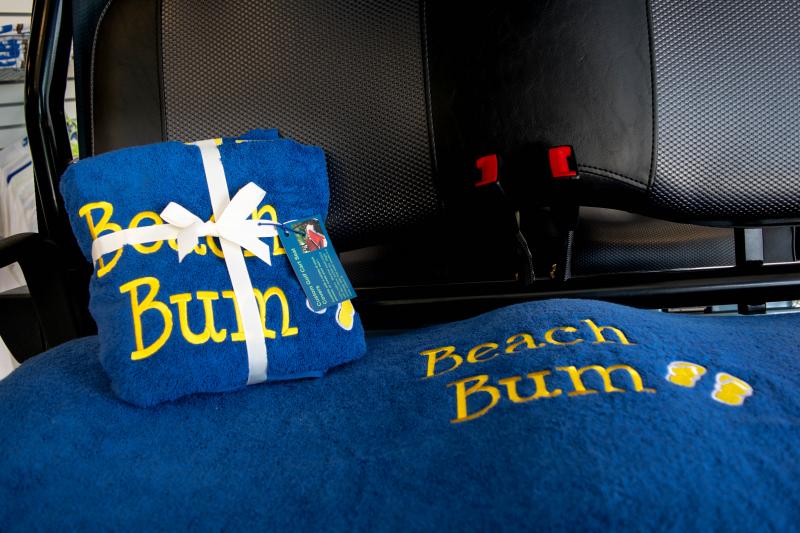 Golf Cart Seat Cover | Blue | Beach Bum