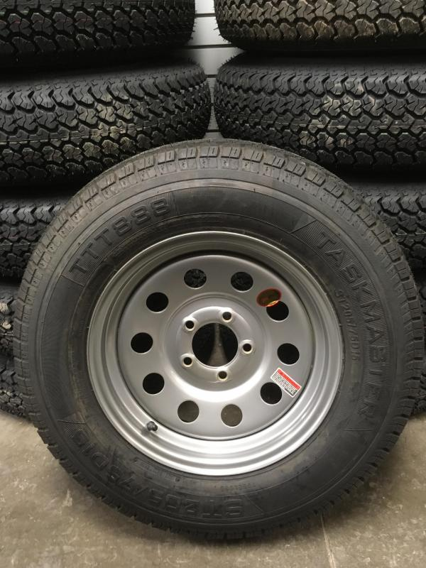 """15"""" Bias New Tire and Wheel"""