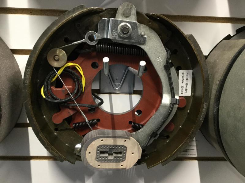 12-1/4x3-3/8 right brake assembly