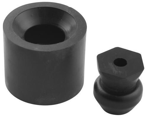 "Plastic Stem and Rubber Socket Door Holder - 1"" Long Stem"