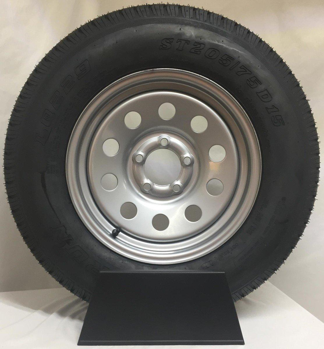 Spare Tire and Rim (205/75R15 - 5 Bolt) - Discovery Trailers