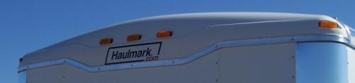 "100"" Haulmark Polar White Roof Cap"
