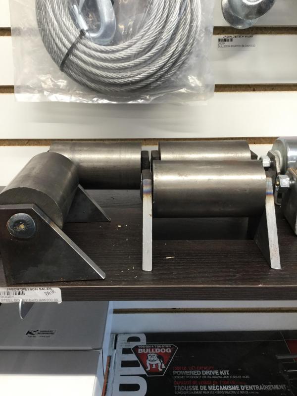 Steel Bogey Skid Wheel