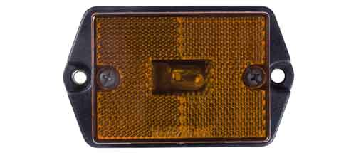 Clearance Marker Light AMBER SURFACE MOUNT
