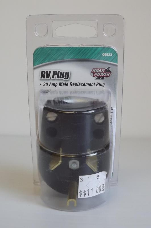 RV Plug - 30 amp Male Replacement Plug