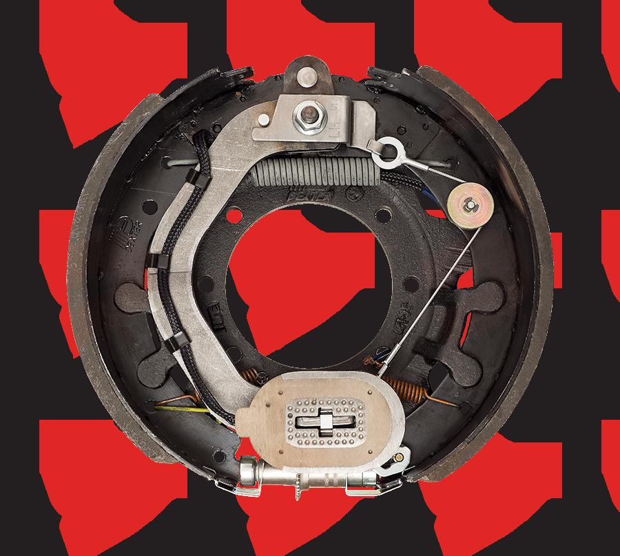 12-1/4 X 5 Dexter Electric Brake 15K Left Hand