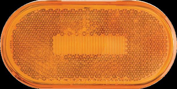 LED C/M 4 OVAL AMB