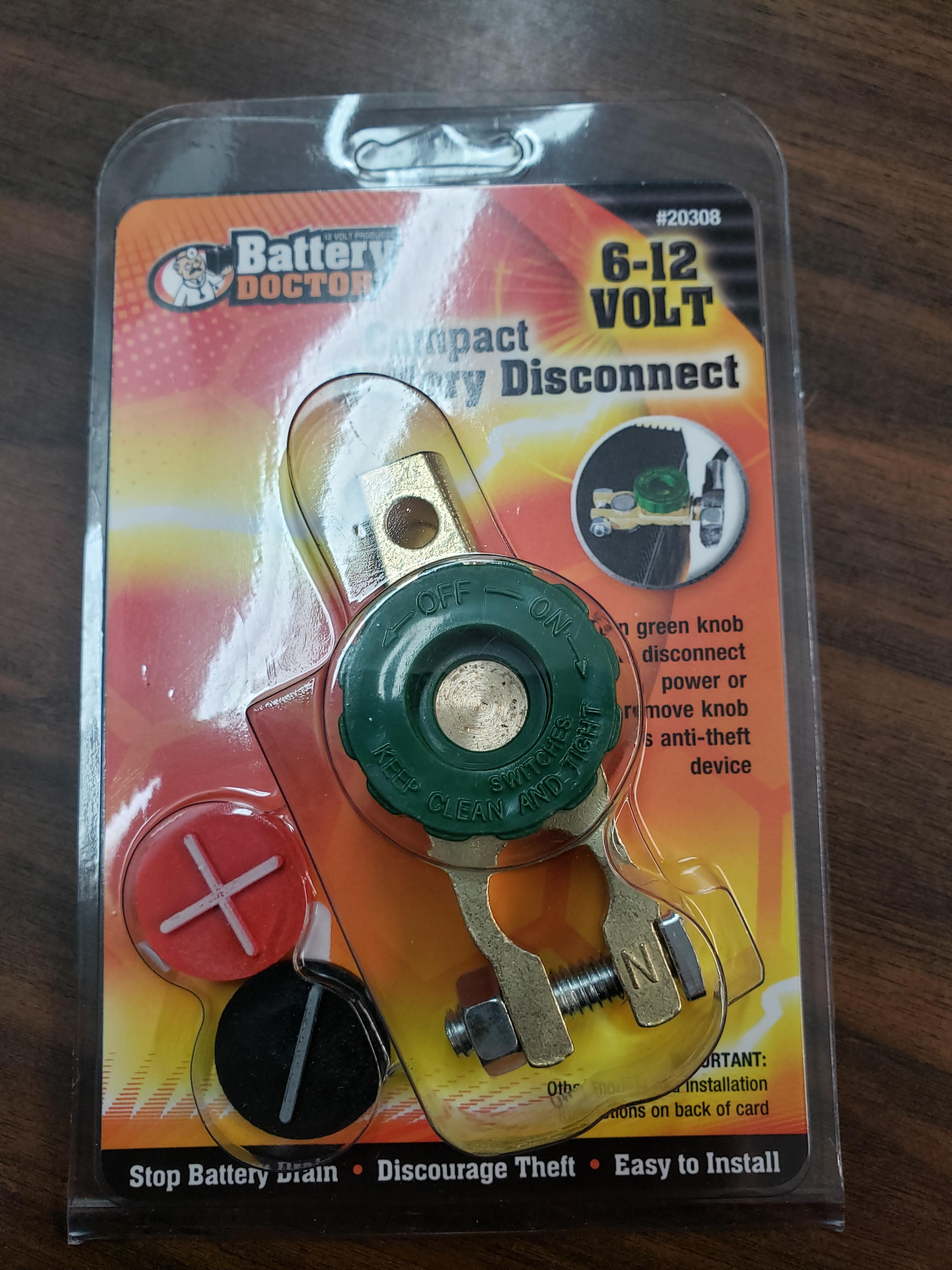 BATTERY DOCTORCOMPACT BATTERY DISCONNECT