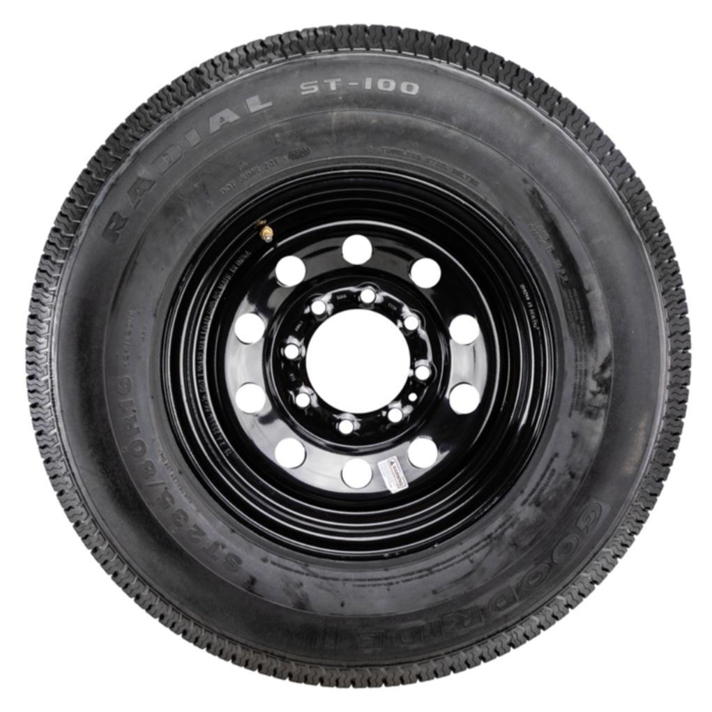 ST235/80R16 Goodride- Black- Rim and Wheel