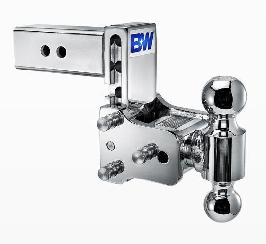 """B&W Hitches. Tow & Stow. 2"""" Shank. Chrome Hitch"""