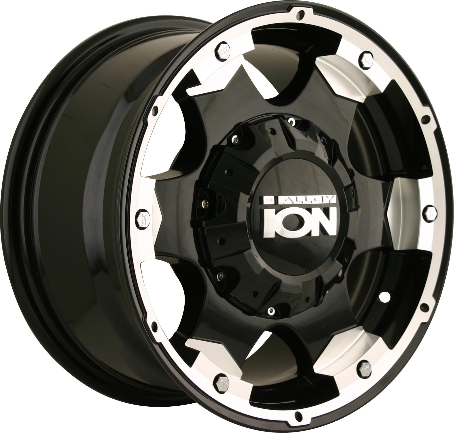 "Ion 194 - 15""x8"" - 5x127/5x114.3 - Black"