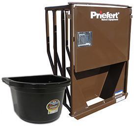 Priefert HSFF Premier Horse Stall Feeder