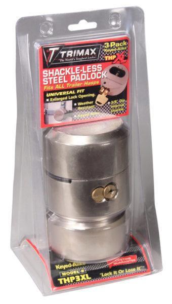 Trimax Hockey Puck Door Lock 3 Pack